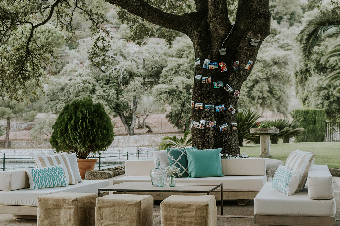 Elegant and rustic chillout. Mallorca wedding planner